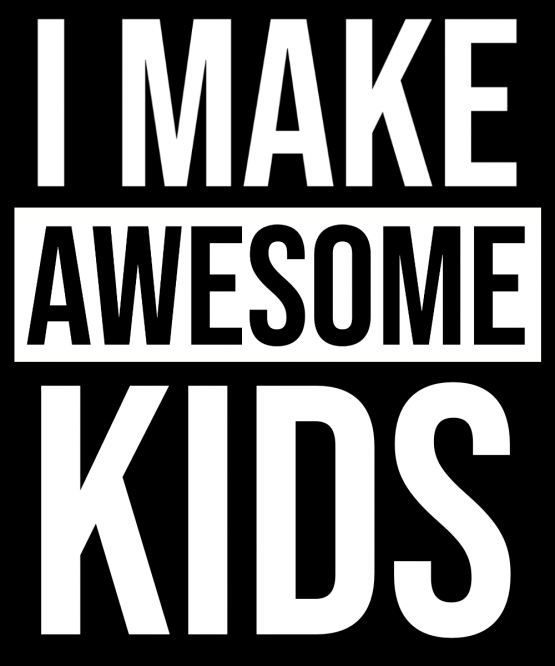 Vader Zoon Kleding Awesome Kids