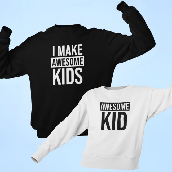 Vader Zoon Trui Awesome Kids