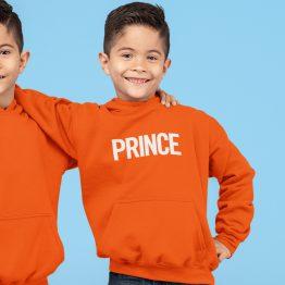 Koningsdag Hoodie Kind Prince