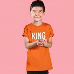Koningsdag Shirt Kind King