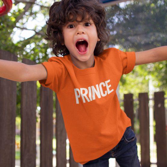 Koningsdag Shirt Kind Prince