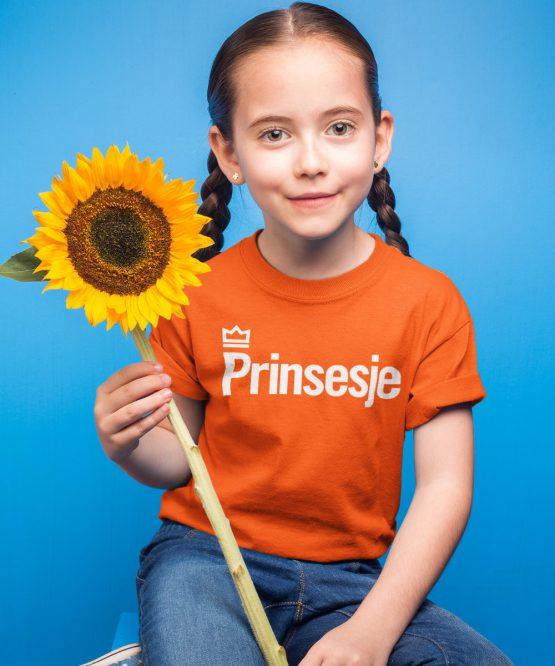 Koningsdag Shirt Kind Prinsesje