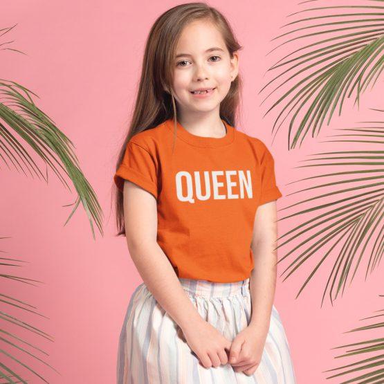 Koningsdag Shirt Kind Queen