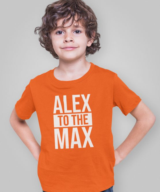 Koningsdag T-Shirt Kind Alex to the Max
