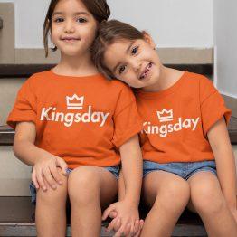Koningsdag T-Shirt Kind Kingsday