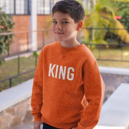 Koningsdag Trui Kind King