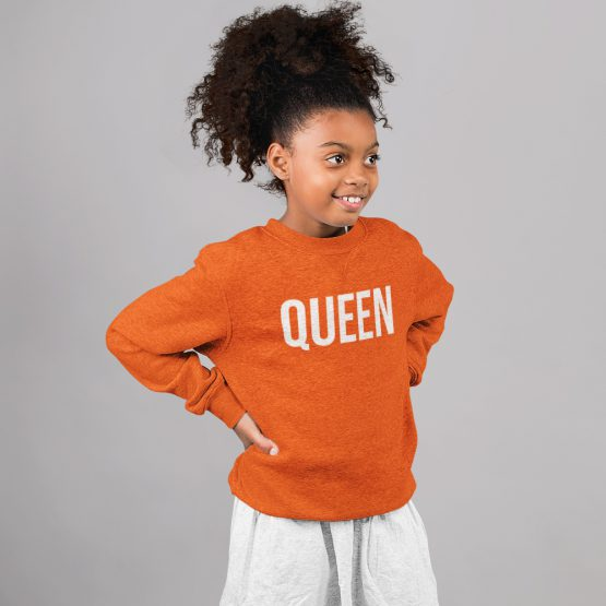 Koningsdag Trui Kind Queen