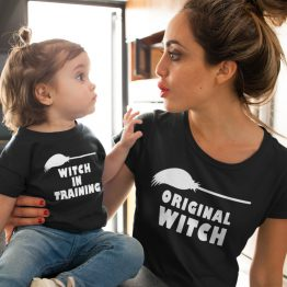 Moeder Dochter Shirts Witches