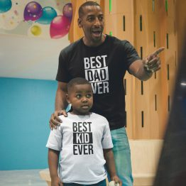 Vader Zoon T-Shirt Best Dad Best Kid