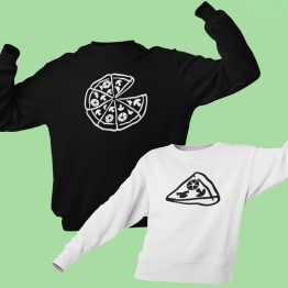 Vader Zoon Trui Pizza Pizza Slice