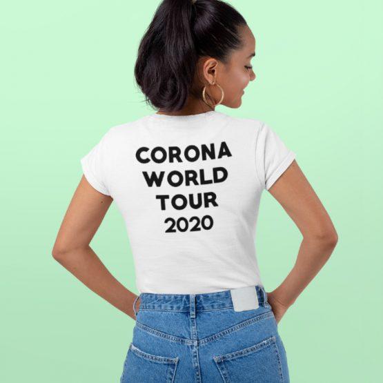 Corona T-shirt Corona world Tour 2020 Back 2 (1)