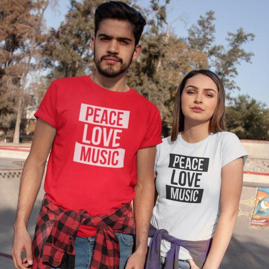 Festival Shirt Peace Love Music 2