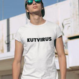 Corona T-Shirt Kutvirus 2