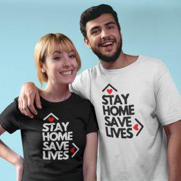 Corona T-Shirt Stay Home