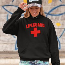 Festival Hoodie Lifeguard black
