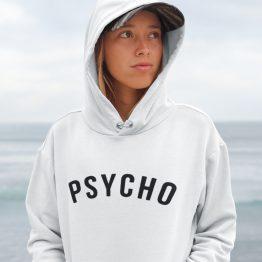 Festival Hoodie Psycho wit