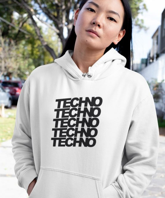 Festival Hoodie Techno x 5