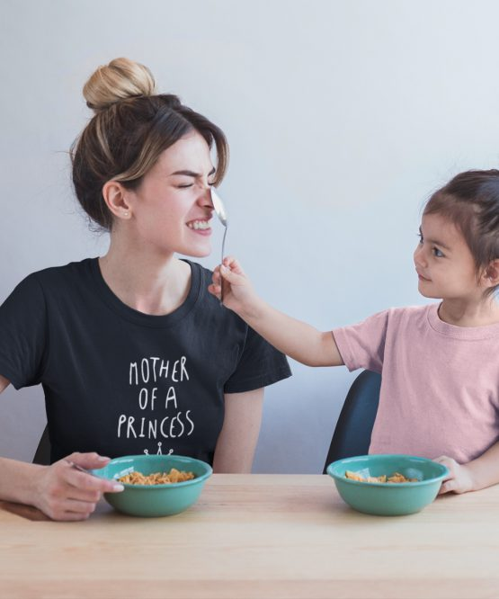Moederdag T-Shirt Mother Of A Princess 1