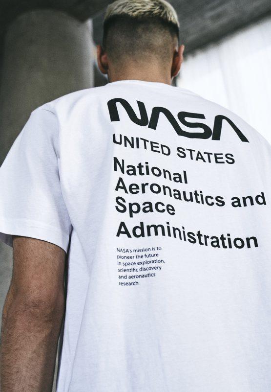 NASA Moon Landing T-Shirt close up
