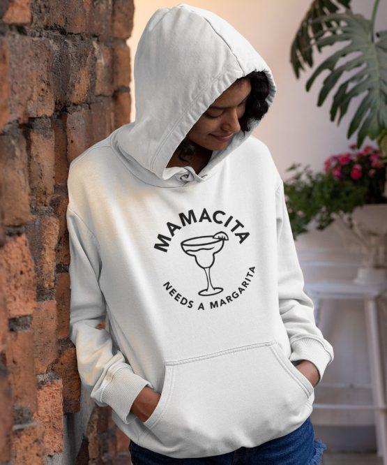 Moederdag Hoodie Mamacita Needs A Margarita