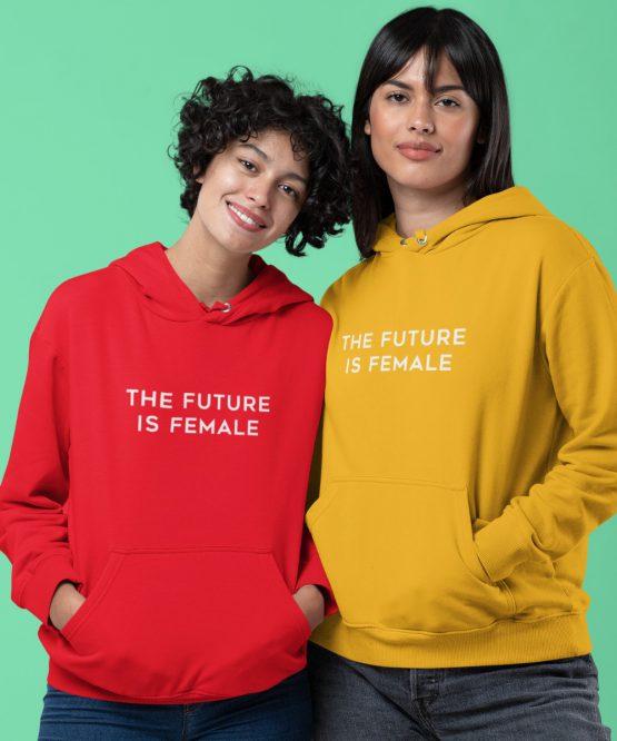 Hoodie The Future Is Female 2