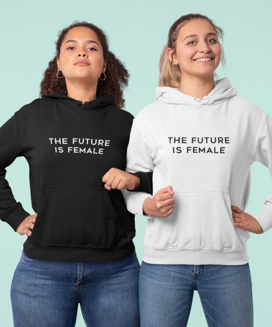 Hoodie The Future Is Female