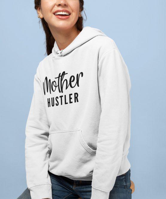 Moeder Hoodie Mother Hustler 2