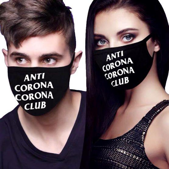 Mondkapje Anti Corona Club