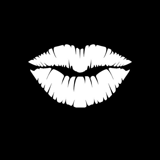 Mondkapje Kissy Lips