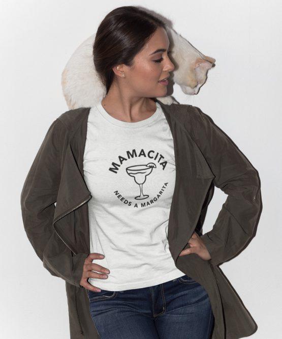 T-Shirt Mamacita Needs A Margarita 2