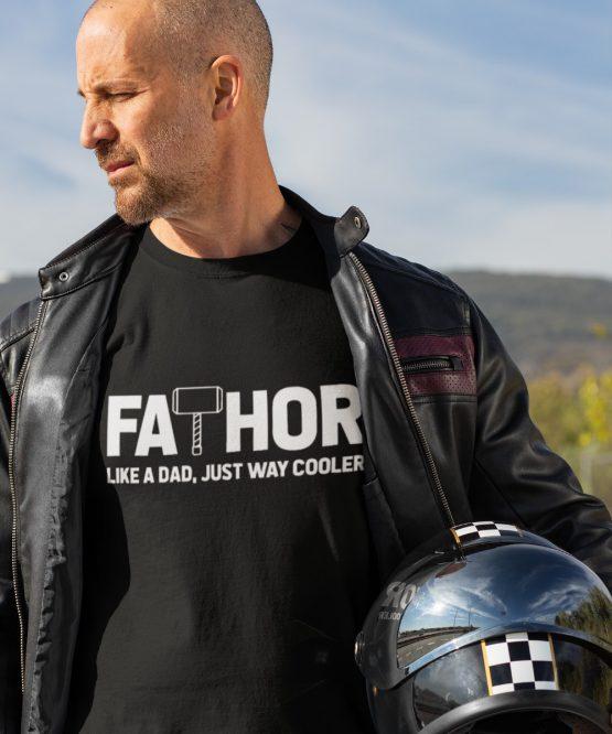 Vaderdag T-Shirt Fathor zwart