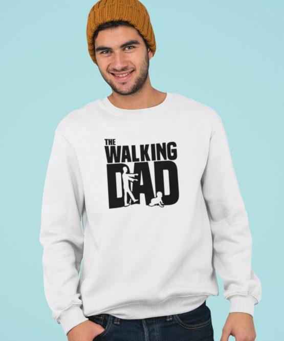 Vaderdag Trui The walking Dad wit