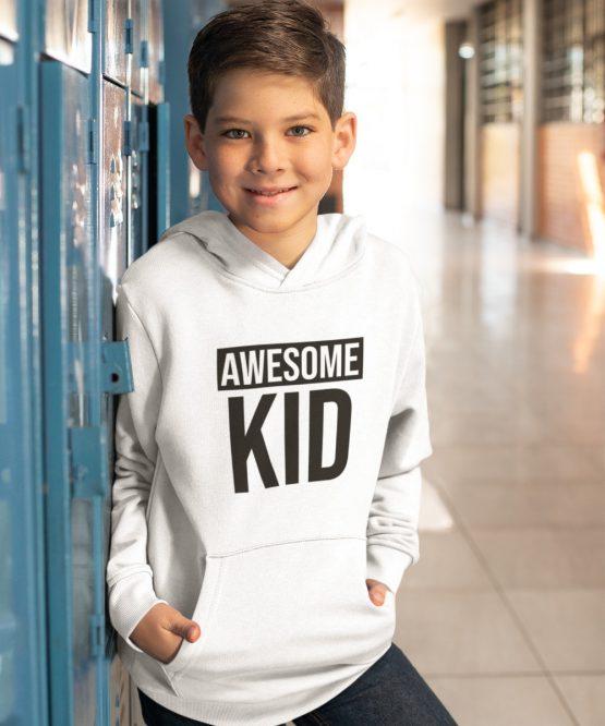 Hoodie Kind Awesome Kid