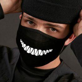 Mondkapje Evil Teeth