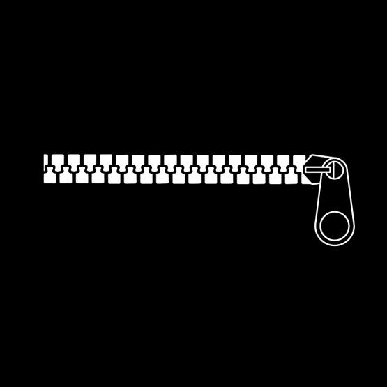 Mondkapje Opdruk Zipper
