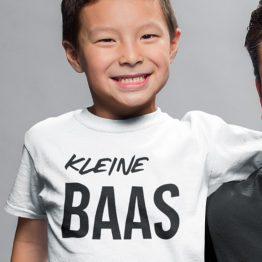 T-Shirt Kind Kleine Baas
