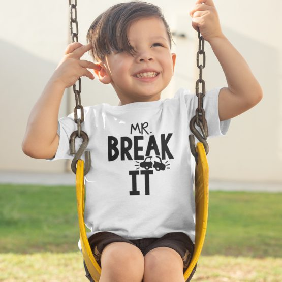 T-Shirt Kind Mr Break It