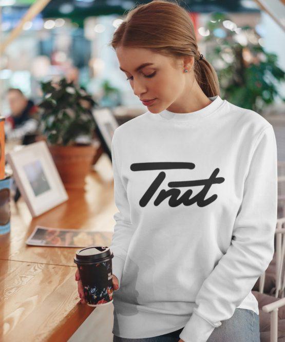 Trut Sweater Premium White Black