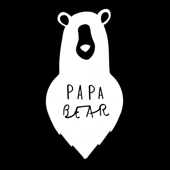 Vaderdag Opdruk Papa Bear 2
