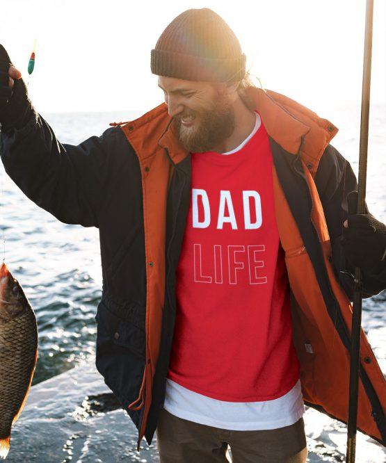 Vaderdag Trui Dad Life Rood