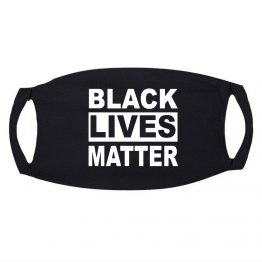 Zwart Mondkapje Black Lives Matter