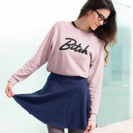 Bitch Sweater Premium Pink