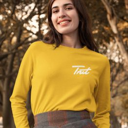 Trut Sweater Premium Yellow Chest
